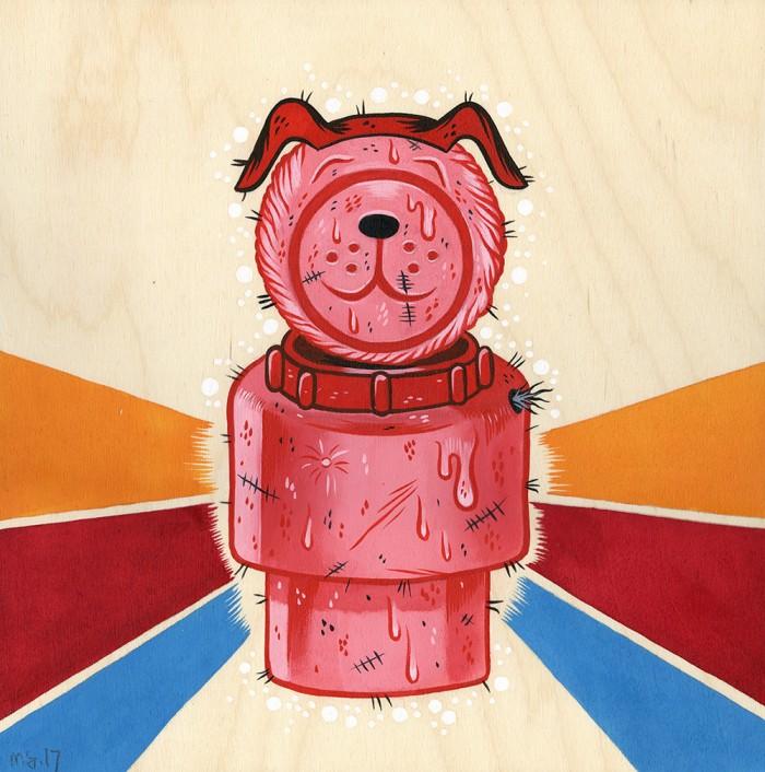Screwball Paintings